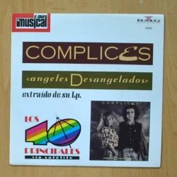 COMPLICES / LUCA CARBONI - ANGELES DESANGELADOS / SILVIA LO SABE - SINGLE