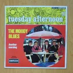 THE MOODY BLUES - TUESDAY AFTERNOON - SINGLE