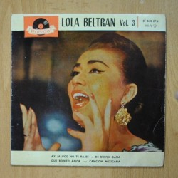 LOLA BELTRAN - AY JALISCO NO TE RAJES + 3 - EP