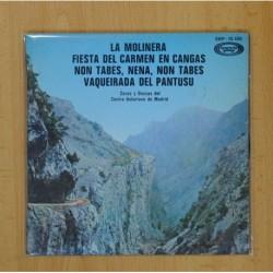 COROS Y DANZAS DEL CENTRO ASTURIANO DE MADRID - LA MOLINERA +3 - EP