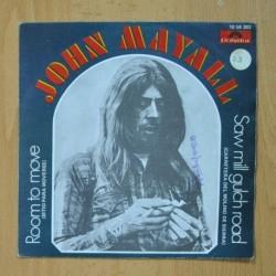JOHN MAYALL - ROOM TO MOVE / SAW MILL GULCH ROAD - SINGLE