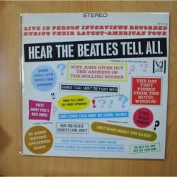 THEBEATLES - HEAR THE BEATLES TELL ALL - LP