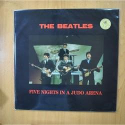 THE BEATLES - FIVE NIGHTS IN A JUDO ARENA - VINILO AZUL LP