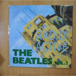 THE BEATLES - RADIO ACTIVE VOL 2 - VINILO VERDE - LP