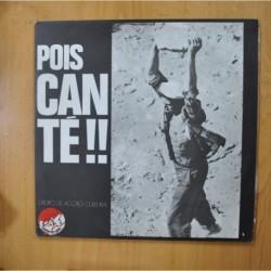 GRUPO DE ACCAO CULTURAL - POIS CAN TE - GATEFOLD LIBRETO + LP