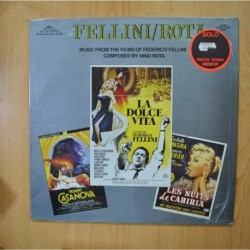 FELLINI / ROTA - MUSIC FROM THE FILMS - LP