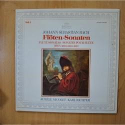 BACH - FLOTEN SONATEN - GATEFOLD LP