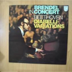 BEETHOVEN - DIABELLI VARIATIONS - LP