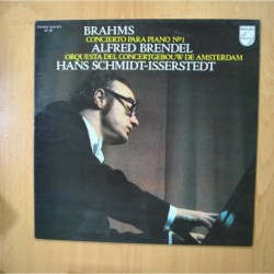 BRAHMS - CONCIERTO PARA PIANO N 1 - LP