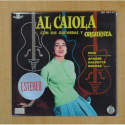 AL CAIOLA CON SUS GUITARRAS Y ORQUESTA - PEPE + 3 - EP