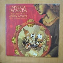 GREGORIO PANIAGUA - MUSICA IUCUNDA - GATEFOLD LP