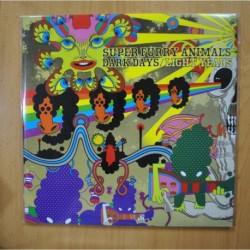 SUPER FURRY ANIMALS - DARK DAYS / LIGHT YEARS - CONTIENE POSTER GATEFOLD 2 LP