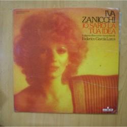 IVA ZANICCHI - IO SARO LA TUA IDEA - PROMO LP