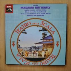 KARAJAN / PUCCINI - MADAMA BUTTERFLY - + LIBRETO BOX 3 LP