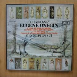 SOLTI / TCHAIKOVSKY - EUGENE ONEGIN - + LIBRETO BOX 3 LP