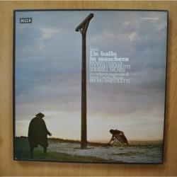 BARTOLETTI / VERDI - UN BALLO IN MASCHERA - + LIBRETO BOX 3 LP
