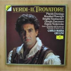 GIULINI / VERDI - IL TROVATORE - + LIBRETO BOX 3 LP