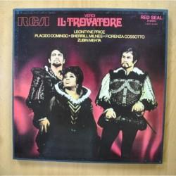 MEHTA / VERDI - IL TROVATORE - + LIBRETO BOX 3 LP