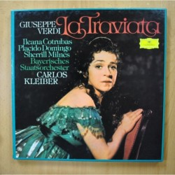 KLEIBER / VERDI - LA TRAVIATA - + LIBRETO BOX 2 LP