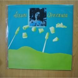 ALEUDA - OFERENDA - + HOJA DE PRENSA + FOTO LP