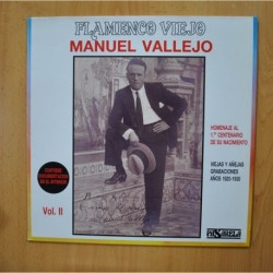 MANUEL VALLEJO - FLAMENCO VIEJO VOL II - LP