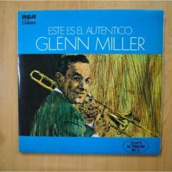 GLENN MILLER - ESTE ES EL AUTENTICO GLENN MILLER - GATEFOLD 2 LP