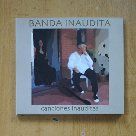 BANDA INAUDITA - CANCIONES INAUDITAS - CD