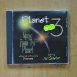 PLANET 3 / JAY GRAYDON - MUSIC FROM THE PLANET - CD