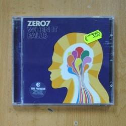 ZERO7 - WHEN IT FALLS - CD