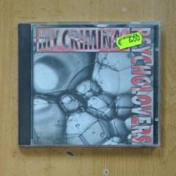 PSYCHOLOVERS - MY CRIMINAL - CD