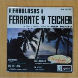 FERRANTE Y TEICHER - SINRISAS + 3 - BSO - EP