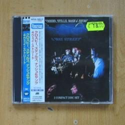 CROSBY STILL NASH & YOUNG - 4 WAY STREET - EDICION JAPONESA 2 CD