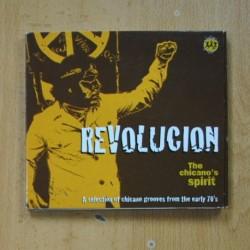 VARIOS - REVOLUCION THE CHICANOS SPIRIT - CD