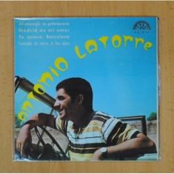 ANTONIO LATORRE - AL RESURGIR LA PRIMAVERA + 3 - EP