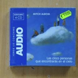 JORGE LIS COACHING - LAS CINCO PERSONAS QUE ENCONTRARAS EN EL CIELO - AUDIOLIBRO 4 CD