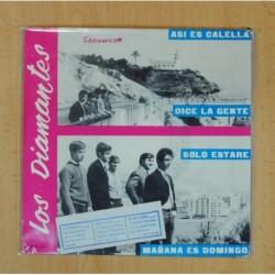LOS DIAMANTES - ASI ES CALELLA + 3 - EP
