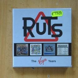 RUTS - THE VIRGIN YEARS - 4 CD