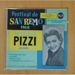 NILLA PIZZI - EN EL AZUL DEL CIELO + 3 - EP