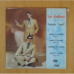 VICKY LARRAZ - EL AMOR ES / EL HURACAN - SINGLE [DISCO VINILO]