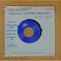 EDICION CORREO MUSICAL - POQUITITO POQUITO A POCO + 3 - EP