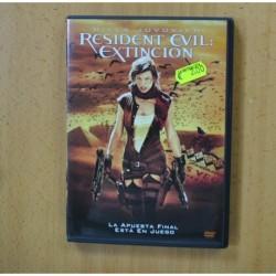 RESIDENT EVIL EXTINCION - DVD