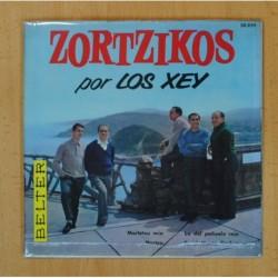 LOS XEY ZORTZIKOS - MAITETXU MIA + 3 - EP