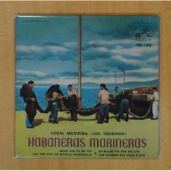 CORAL MARINERA LOS TIBURONES HABANERAS MARINERAS - ADIOS, ADIOS, LUCERO DE MIS NOCHES + 3 - EP