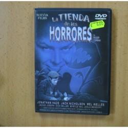 LA TIENDA DE LOS HORRORES - DVD