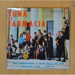 TUNA DE FARMACIA - TUNA COMPOSTELANA + 3 - EP