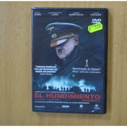 EL HUNDIMIENTO - DVD