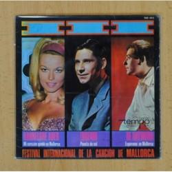 HANNELORE AUER / EUGENIO / DE RAYMOND (FESTIVAL INTERNACIONAL DE LA CANCION DE MALLORCA) - MI CORAZON QUEDO EN MALLORCA + 2 - EP