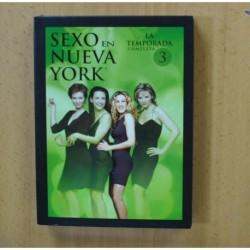SEXO EN NUEVA YORK - TERCERA TEMPORADA - DVD
