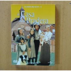LA CASA DE LA PRADERA - CUARTA TEMPORADA - DVD