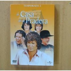 LA CASA DE LA PRADERA - QUINTA TEMPORADA - DVD
